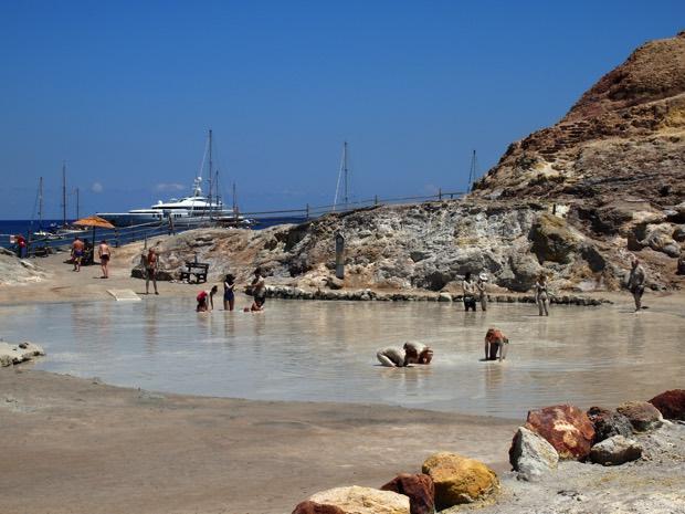 世界遺産エオリア諸島ヴルカーノ島