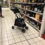 スーパーマーケットの新サービス?!こんなところに…