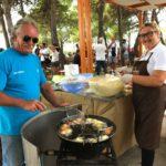 パーネ・クンツァート、イワシの炭火焼き…</br>素朴なシチリア郷土料理満載♪の収穫祭