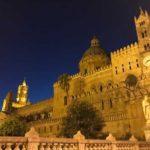 パレルモ大聖堂のライトアップとお湯が出ない問題