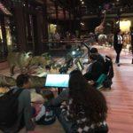 夫婦喧嘩で使う予定の狼画像と美しい「進化大陳列館」</br>〜大人の女子パリ珍道中6